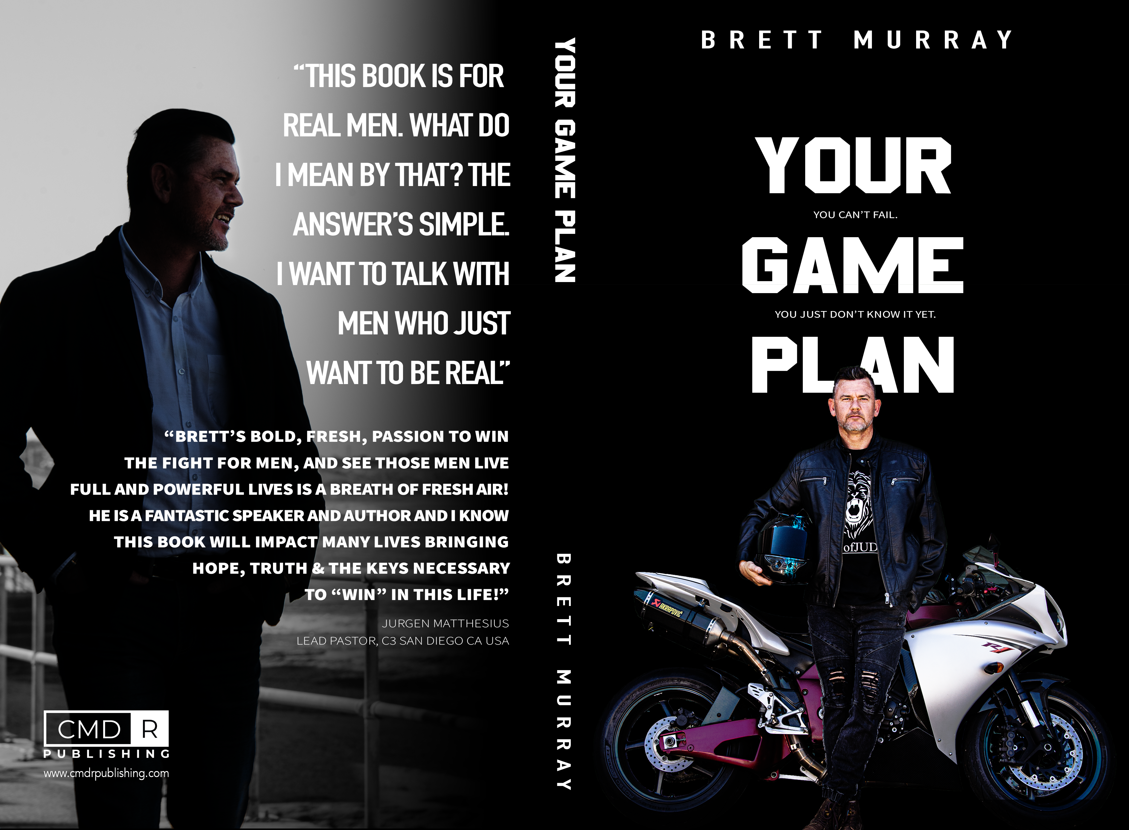 Game Plan Book - Brett Murray